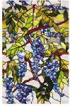Artscape 01-0106 Window Film, Wisteria, 24 x 36-In., Must Purchase in Quantities of 4