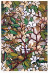 Artscape 01-0113 Window Film, Magnolia, 24 x 36-In., Must Purchase in Quantities of 4