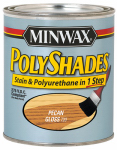 Minwax The 217204444 1/2-Pint Gloss Pecan Polyshades Stain