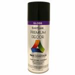 True Value Mfg PDS2-AER Premium Decor Spray Paint, Black Gloss, 12-oz.