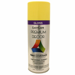 True Value Mfg PDS41-AER Enamel Spray Paint, Daffodil Gloss, 12-oz.