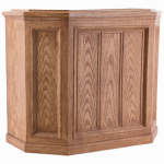 Essick Air Products 696 400HB Credenza Evaporative Humidifier, Light Oak, 5.6-Gal. Water Capacity, Up to 3600 Sq. Ft. Coverage,
