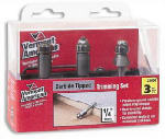 Vermont American 23006 Carbide-Tipped Router Bits, 3-Pc. Set,