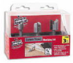 Vermont American 23008 Hinge Mortising Router Bits, Carbide-Tipped, 3-Pc. Set