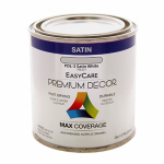 True Value Mfg PDL3-HP White Satin Enamel Paint, 1/2-Pt.