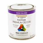 True Value Mfg PDL16-HP Premium Decor Almond Gloss Enamel Paint, 1/2-Pt.