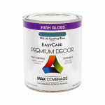 True Value Mfg PDL33-QT Premium Decor Country Blue Gloss Enamel Paint, Qt.