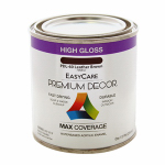 True Value Mfg PDL60-HP Premium Decor Leather Brown Gloss Enamel Paint, 1/2-Pt.