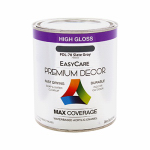 True Value Mfg PDL70-QT Premium Decor Slate Gray Gloss Enamel Paint, Qt.