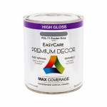 True Value Mfg PDL71-QT Premium Decor Pewter Gray Gloss Enamel Paint, Qt.