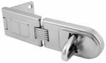 Master Lock 720DPF 6-1/4-Inch Single Hinge Hasp