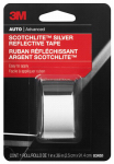 3M 03455 Reflective Safety Tape, Silver, 1 x 36-In.