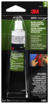 3M 03602 Black Super Weatherstrip Adhesive, 1-oz.