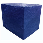 Kaps Tex MT BLUE PALLET COVER TARP Blue Polyethylene Pallet Tarp Cover, 5 x 4 x 4-Ft.
