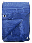 Kaps Tex 797835RD 15 x 20-Ft. Blue Polyethylene Tarp