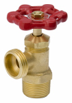 B&K 102-003 Boiler Drain, Male, Threaded, 0.5-In.