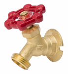B&K 108-004 Sillcock, Brass, Flanged, 3/4 FP x 3/4-In. Hose
