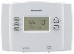 Honeywell Home/Bldg Center RTH221B1021/E1 Programmable Thermostat, 1-Week, 4 Per Day