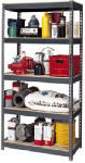 Edsal Mfg CR3618 18 x 36 x 72-Inch Industrial-Grade 5-Shelf Storage Unit