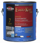 Gardner-Gibson 5527-1-20 Roof Gard 700 Elastomeric Coating, White, 3.6-Qts.