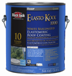Gardner-Gibson 5530-1-20 Ultra-Roof 1000 Elastomeric Coating, White Siliconized, 3.6-Qts.