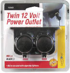Custom Accessories 10242 12-Volt Auxiliary Twin Outlet