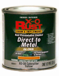 True Value Mfg XO38-HP Oil-Base Paint, Gloss, Caution Yellow, Interior/Exterior, 1/2-Pt.