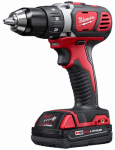 Milwaukee 2601-22 V18 Compact Driver Kit