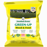 Jonathan Green & Sons 12346 Weed & Feed Lawn Fertilizer Plus Broadleaf Weed Control, 25-0-3, Covers 5,000-Sq.-Ft.