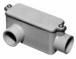 Thomas & Betts E985D-CTN 1/2-Inch Type LR PVC Access Fitting
