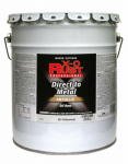 True Value Mfg XO10-5G Oil-Base Paint, Gloss, Aluminum, Interior/Exterior, 5-Gal.