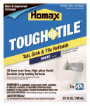 Homax Products/Ppg 720773 Tub & Tile Brush-On Epoxy Finish, White, 26-oz.