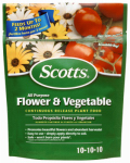 Scotts Miracle Gro 1009001 Continuous Release All-Purpose Flower & Vegetable Food, 10-10-10 Formula, 3-Lb.