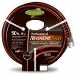 Teknor-Apex GT8844-50 NeverKink Pro Garden Hose, Commercial-Duty, 5/8-In. x 50-Ft.