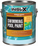Insl-X Products RP2710092-01 Swimming Pool Paint, Rubber Based, Satin White, 1-Gal.