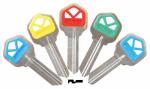 Kaba Ilco KW1-PC Ilco Kwikset Plastic Head Key Blank