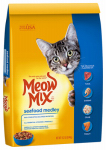 Jm Smucker Retail Sales 00829274502290 Meow Mix Dry Cat Food, Seafood Medley, 14-Lbs.