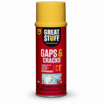 Dow Chemical 157901 Gaps & Cracks Minimal Expanding Foam Sealant, 12-oz.