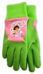 Midwest Quality Gloves DE100T Kids' Dora The Explorer Rubber-Dipped Gloves