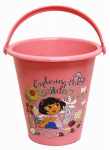 Midwest Quality Gloves DE8K Dora The Explorer Kid's Size Gardening Bucket
