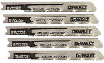 Dewalt Accessories DW3726-5 Thin Metal Jigsaw Blade, 3-In., 24-TPI