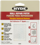 Hyde Tools 09898 4-Inch Aluminum Mesh Drywall Wall Patch