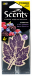 Auto Expressions NOR49-3P4 Air Freshener, Wild Berry, 4-Pk.