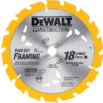 Dewalt Accessories DW3192 7.25-Inch 18-TPI Carbide Blade
