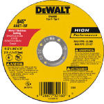 Dewalt Accessories DW8062 4.5-In. Thin Metal Cut-Off Wheel