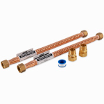 Camco Mfg 10193 Water Heater Installation Kit, Universal