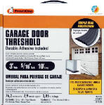 Thermwell GFS10 Garage Door Threshold, 10-Ft.