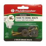 Fluidmaster 6101 Tank-To-Bowl Bolts, 2.75-In., 2-Ct.