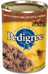 Mars Petcare Us 01018 Dog Food, Chunky Beef Bacon & Cheese, 22-oz., Must Be Purchased in Quantities of 12