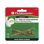 Fluidmaster 7113 3-1/2-Inch Bowl-to-Floor Screws